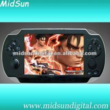4.3 inch portable mp4 mp5 game player with HDMI,camera,FM,tv out,touch screen