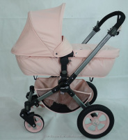 Advanced techniques for the light weight baby frames with the new designed carrycot adaptor to make baby stollers more thicker