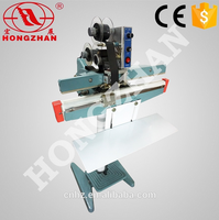 Hongzhan KS series double seals pedal impulse heat sealer for pe pp pvc bag
