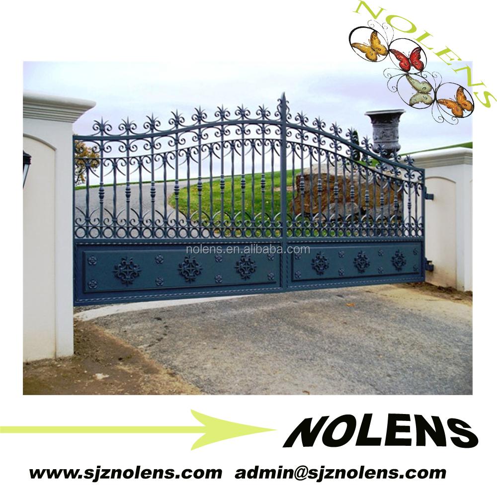 Venta al por mayor portones de hierro forjado para casas for Modelos de portones metalicos para casas
