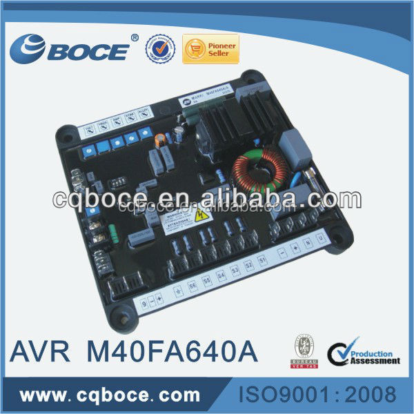 Regulator AVR Stabilizer M40FA640A AVR for Generator Excitation