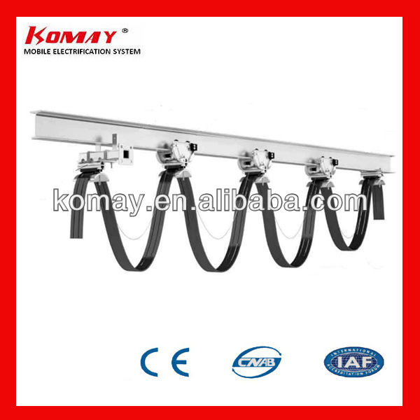 Komay factory price festoon system-I beam Trolley
