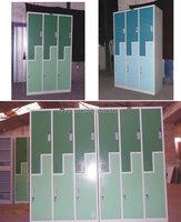 6 door 2 layer design steel furniture metal school student clothing locker