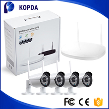 4ch wireless ip security camera nvr system outdoor