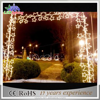 Christmas Decoration Set Led Arch Motif Light