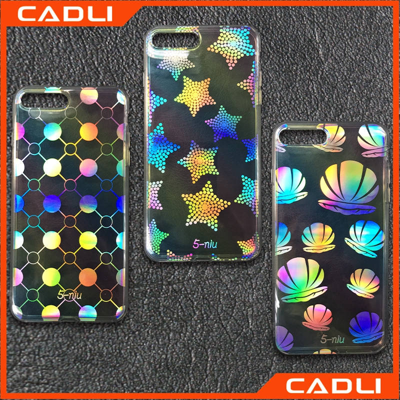 Creative Glitter Ultra-thin Electroplating TPU 3H Scratch 3D Mobile Phone Case For iPhone 6s 6s Plus 7 7 Plus
