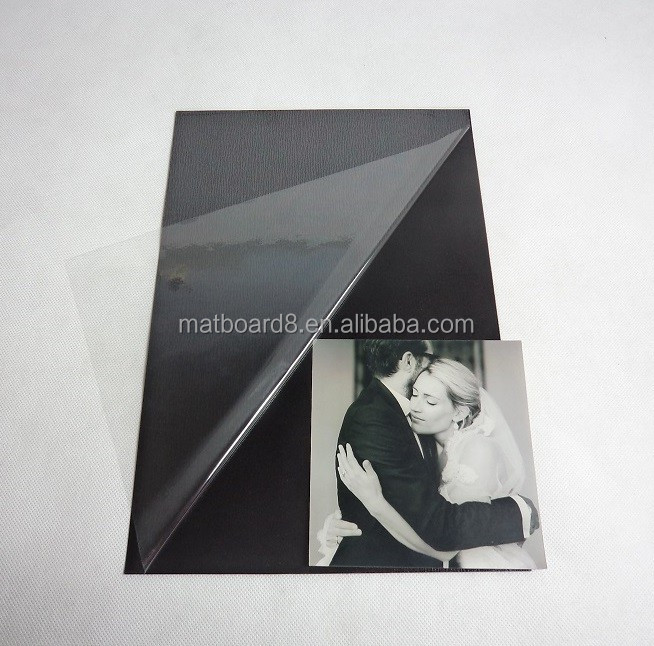 Self-adhesive PVC/PP sheet for photo album