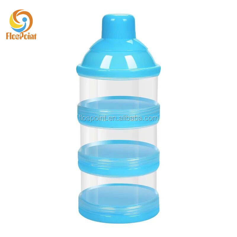 Promotion Portable BPA Free Baby Milk Powder Dispenser Snack Container