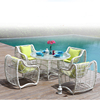 Wicker Outdoor Furniture Restaurant Tables And