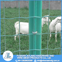 Holland welded iron mesh for raising sheep and chicken PVC coated welded wire fence