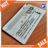 plastic scratch pin card with inkjet serial numbers printed