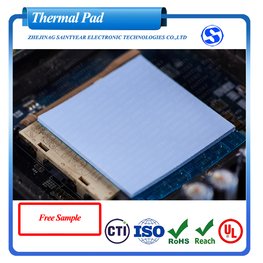 2.8W Thermal Conductive Silicone Pad for gap filling