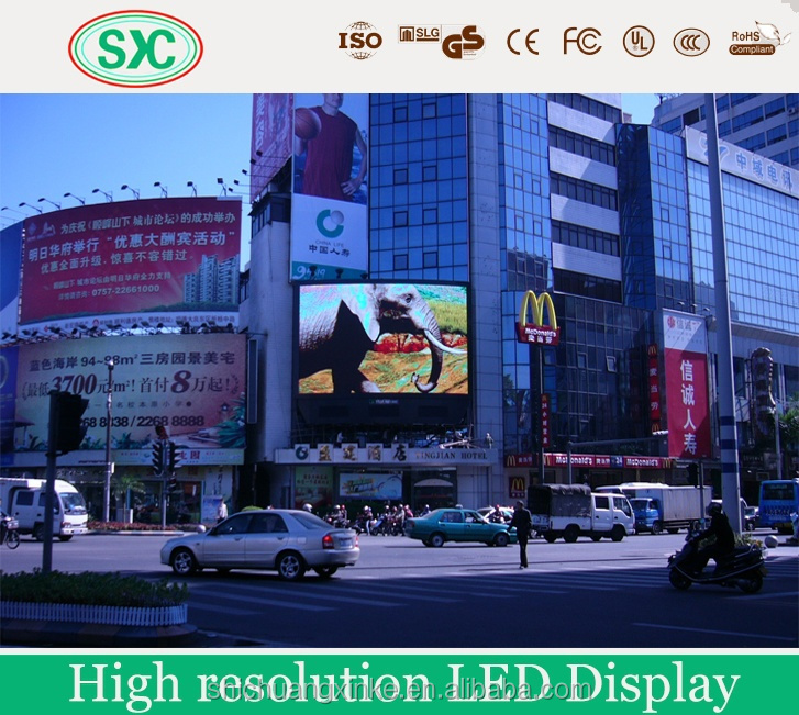 Animated led ouvert sign touch screen advertising display purchase