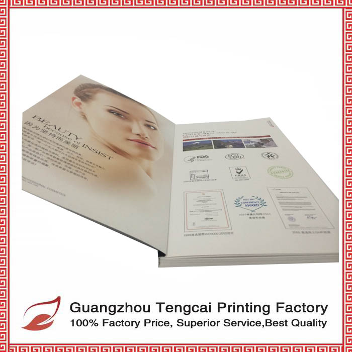 2016 professional catalogs and Promotional brochures printing