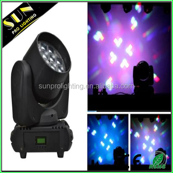 The king of quantity for night club 12* 10w rgbw led head