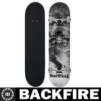 Backfire New Darkstar Explode Silver Complete Skateboard