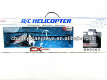 3.5CH anti-impact outdoor helicopter with gyro,alloy structure