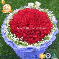 Ornamental 3-5cm Head rose flower making