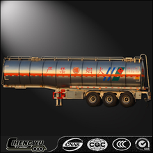 Heavy new fuel tank semi trailer carton steel aluminum for sale