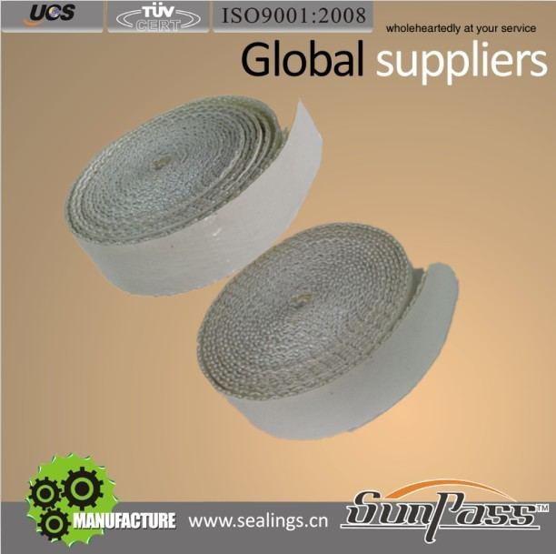 Constructions 3 Inch Pipe Insulation Glass Fiber Tape Adhesive Fiberglass Tape