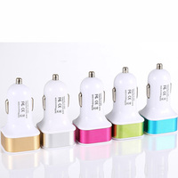 Mini USB Car Cigarette Charger for iPhone/iPod/Cellphones ( 50pcs/lot )