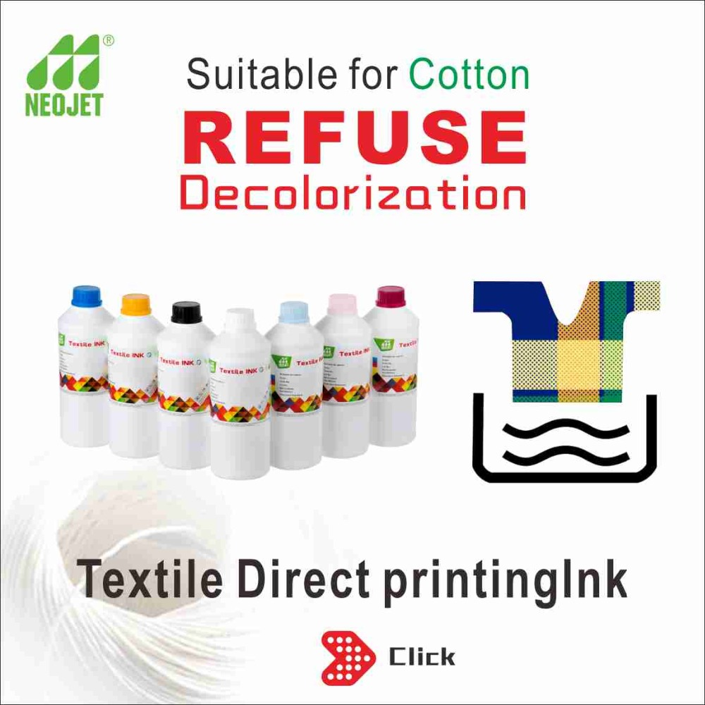 vivid textile printing ink white ink for industrial inkjet printer neojet water-based pigment ink
