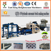 QT4-15 fully automatic hydraulic sand cement concrete paving stone block making machine price in kenya with CE certificate