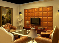 GLM Leather wall panel Interior decoration upholstered wall panels New HOT products bring you new profit