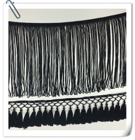 2017 Polyester Stretch Chainette Tassel fringe With Trimming For Garment Dresses