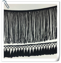 Polyester Stretch Chainette Tassel fringe With Trimming For Garment Dresses