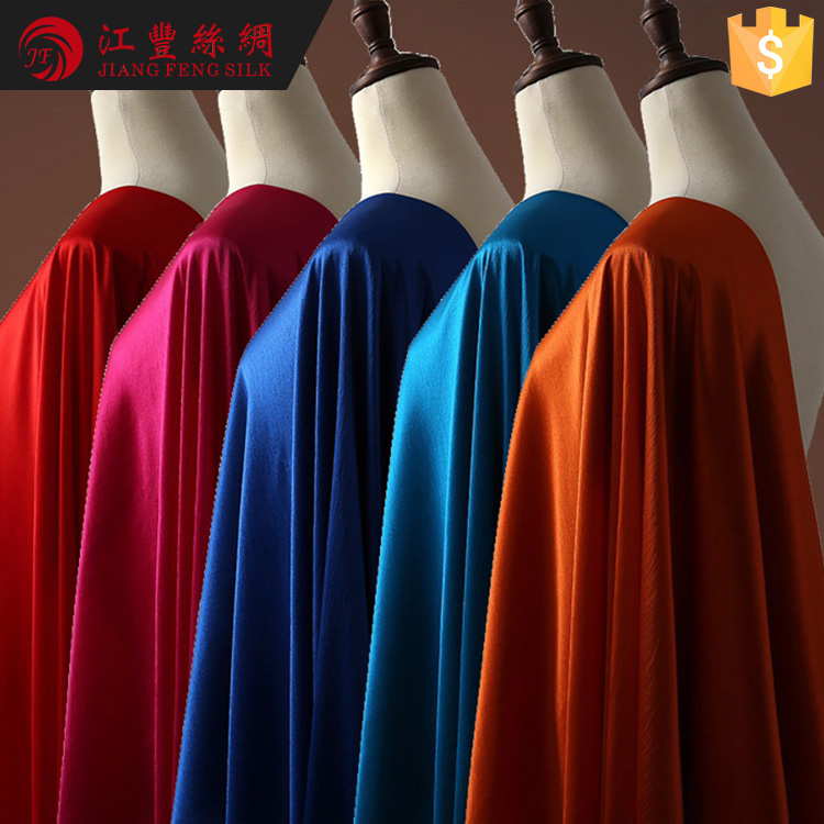 N25 Soft And Thin 35% Mulberry Silk 8% Dubai Spandex Fabric