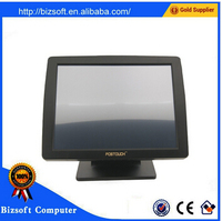 Bizsoft POSTOUCH 1518 15'' original pos screen TFT LCD touch monitor for store