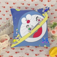 Custom Doraemon pillow supplier printing , customize printed Doraemon pillow supplier