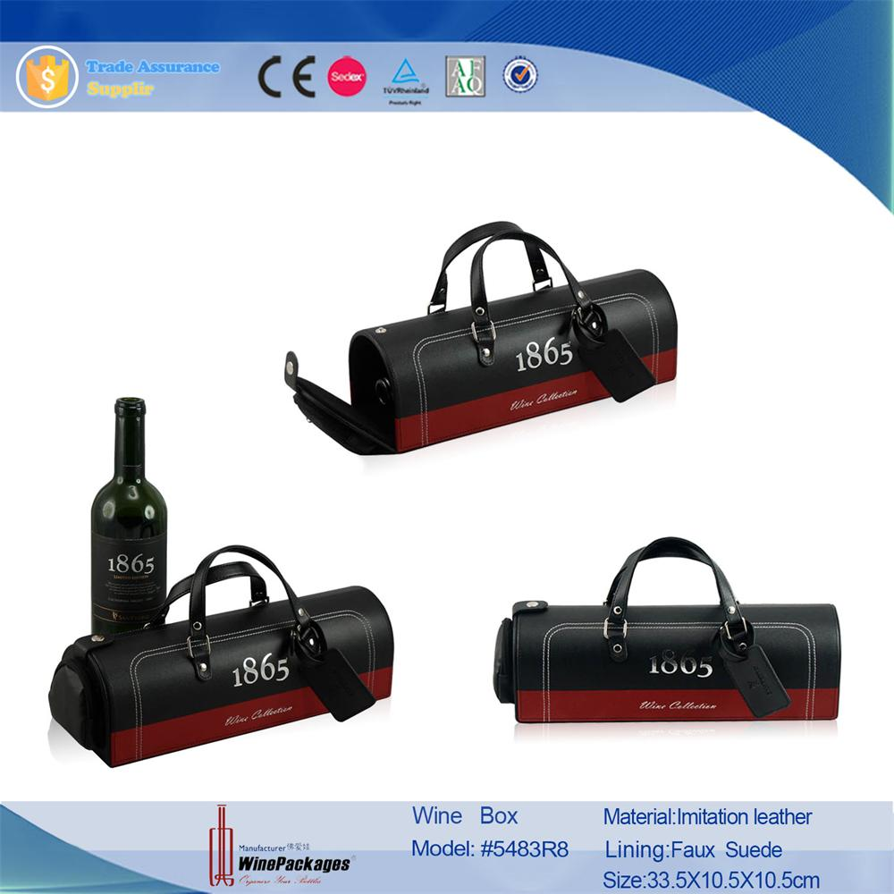 Alcoholic beverage wholesale glass liquor bottles packing wine tote bag