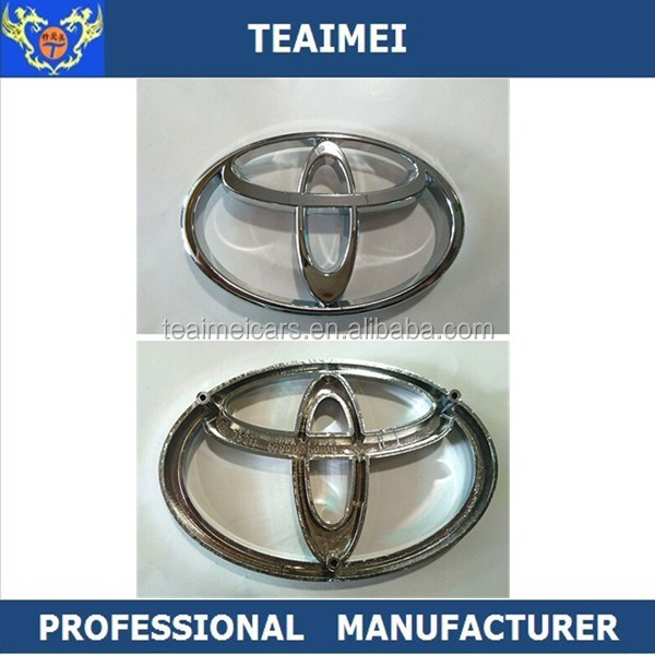 ABS Chrome Car Logo Front Badge Grill Hood Emblem