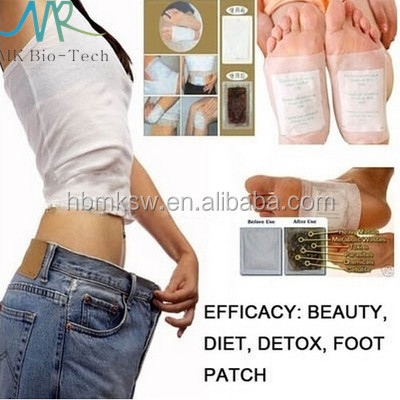 Royal body detox relax foot patch with factory price