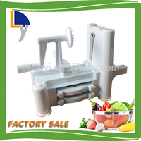 New design product factory sale custom stainless steel spiral potato slicer