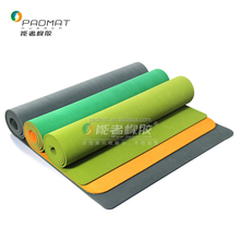 Natural Rubber pro fit recycled rubber yoga mat in high density