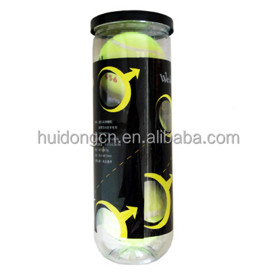3PCS/Can ITF tennis ball High Elasticity Durable 20% wool natural rubber Yellow Wholesale Tennis ball for Beginner Competition