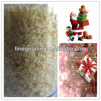 halal industrial bovine gelatin as sealant for giftbox,textile,match head