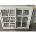 PVC/UPVC soundproof sliding windows with fiberglass mesh