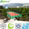 high-performance single component tennis court surfaces outdoor sport court manufacturer