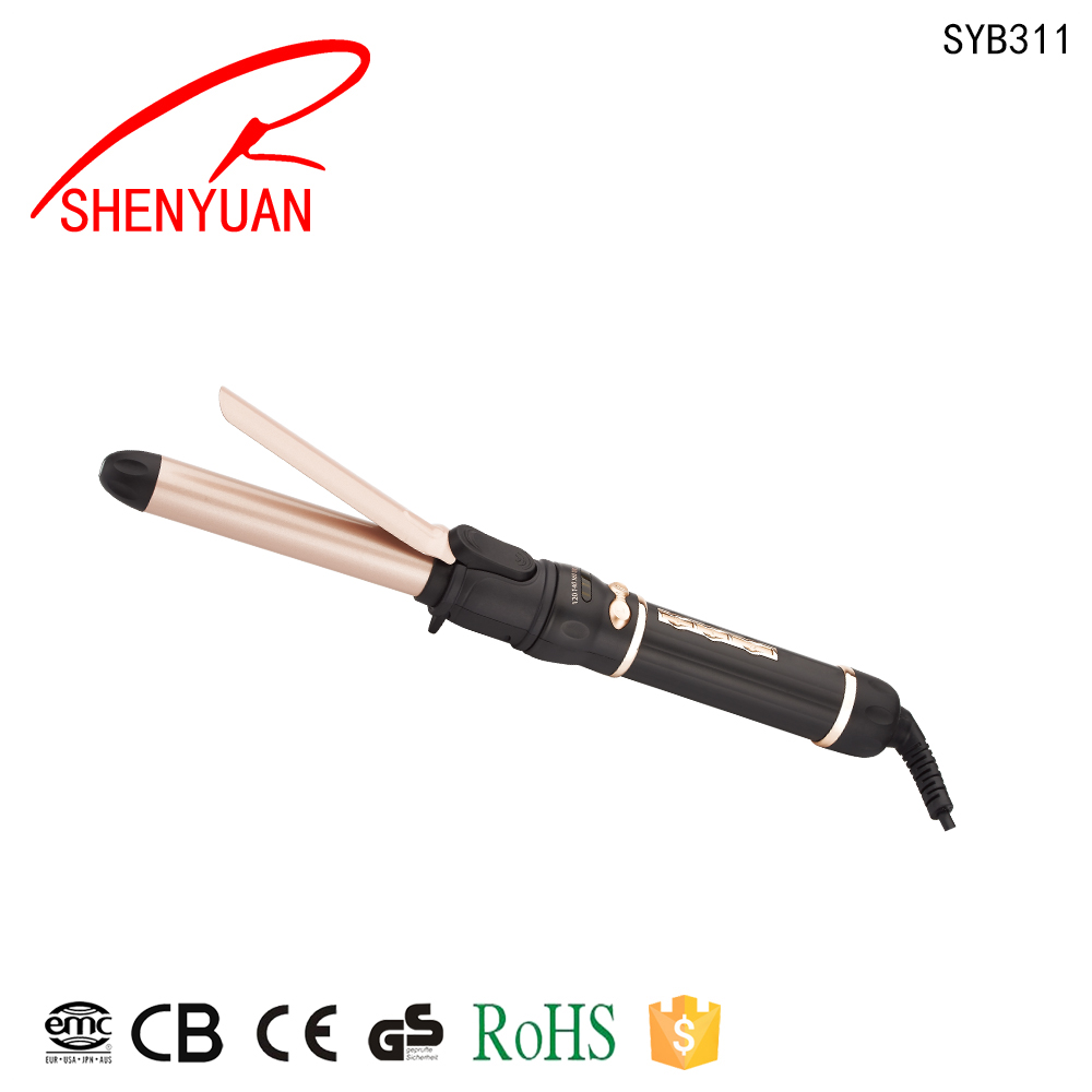 professional temperature control hair curler