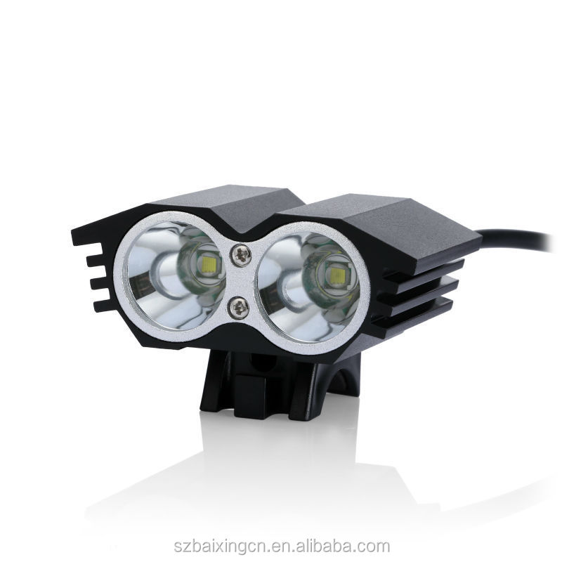 2800LM 2x CREE XML XM-L <strong>U2</strong> <strong>Cycling</strong> Bike <strong>LED</strong> Mountain Bicycle <strong>Lights</strong>