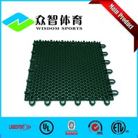 Portable anti-slip floor synthetic outdoor basketball court flooring