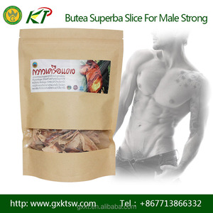 Thailand Herb Butea Superba Slice Treatment of Erectile Dysfunction in Men