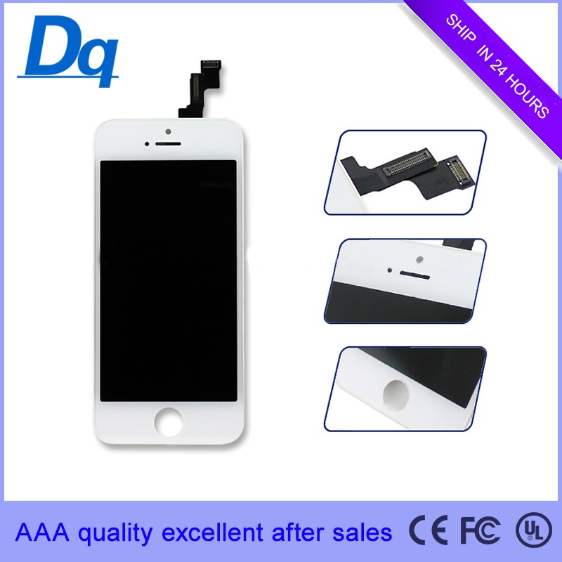 screen lcd for iphone 5G 5C 5S chinese phones spares for iphone 5G 5C 5S lcd and digitizer assembly blue