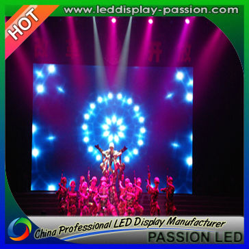 China New Innovative Product P6mm Indoor Stage LED Display Screen