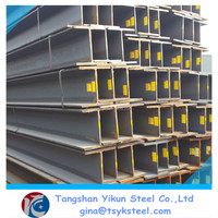 Hot Rolled Technique and GR50,S235JR,A36,SS400 Grade steel h beams iron for sale