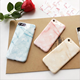 TPU Marble Silicone Hard Light Pink Slim Thin Mobile Phone Case For iPhone 6 6 Plus